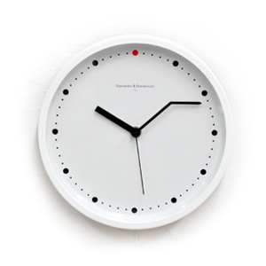 ladies 39 gadgetsdiamantini domeniconi on time wall clock. Black Bedroom Furniture Sets. Home Design Ideas