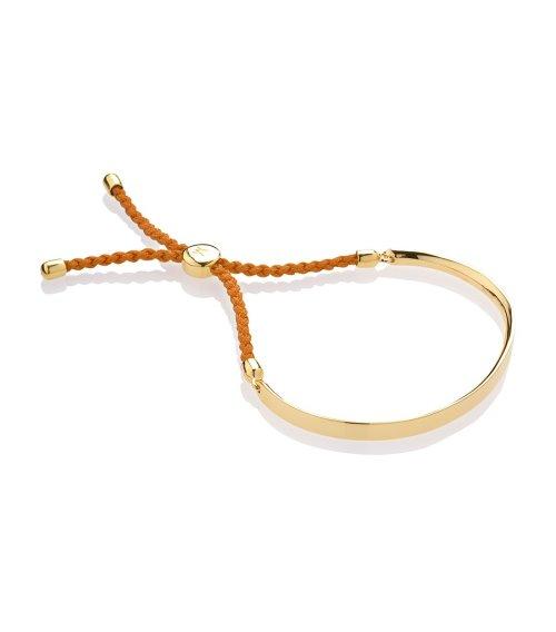 Fiji Gold-Plated Unisex Bracelet by Monica Vinader