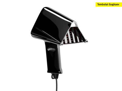 Darth Vader Hair Dryer Concept
