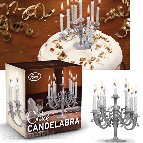 Candelabra For Birthday Cakes