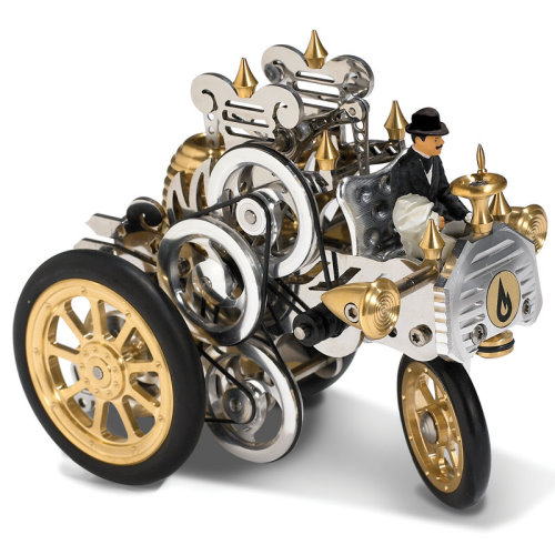 External Combustion Engine Toy Car