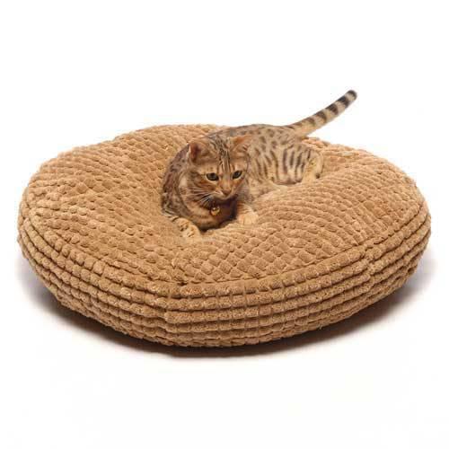 Ultra Soft Plush Cat Bed