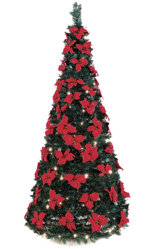 Ladies' Gadgets72 inch Pop Up Christmas Tree Complete With Lights ...