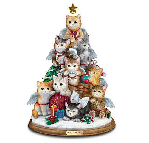Ladies GadgetsChristmas Tree Filled With Kitties Ladies