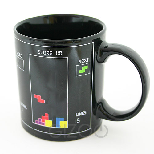 Heat Sensitive Tetris Mug