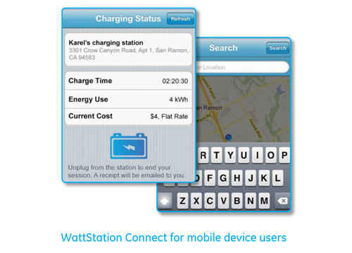 WattStation Connect Manage Electric Car Chargers via the Smartphone