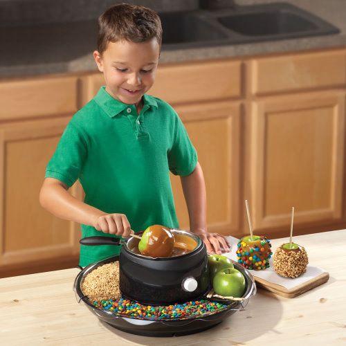 Caramel Apple Maker is Fun to Use