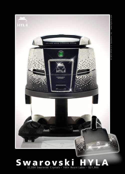 HYLA GST Swarovski Edition Worlds Most Luxurious Vacuum Cleaner