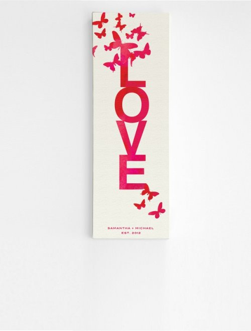 Love is in the air wall art