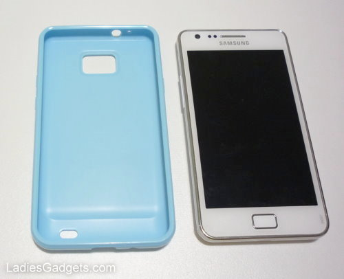 Hands on Review Sky Blue Gel Skin Case (7)