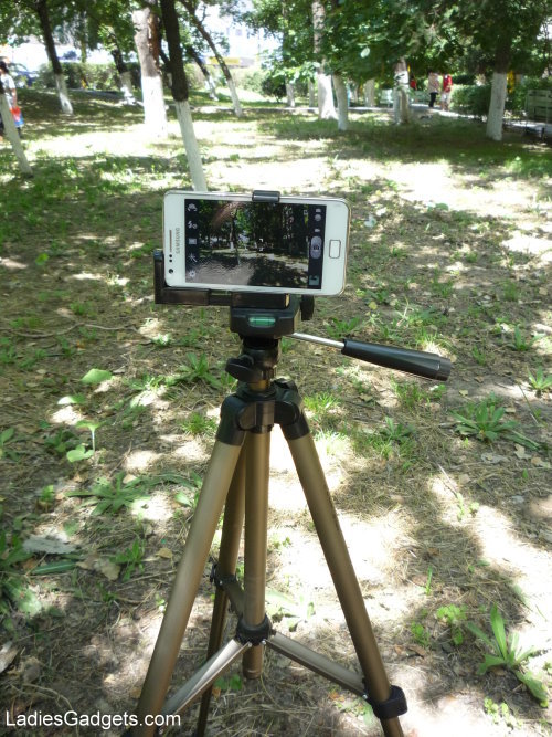 Hands on Review Tmart Tripod Adapter for Smartphones (7)