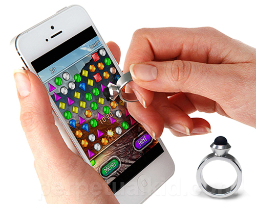 A Stylus Worn on Your Finger