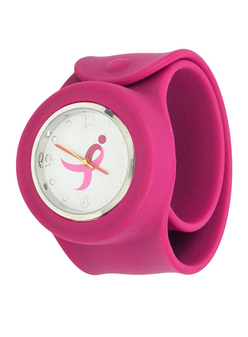 Komen Silicone Slap Watch breast cancer