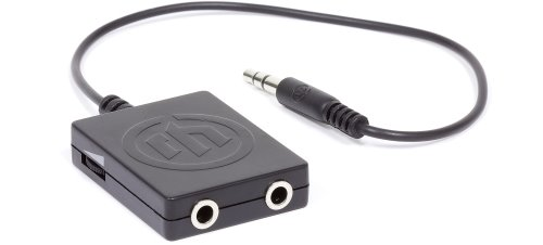Wicked Audio Splitter for a Two Person Listening Experience (2)