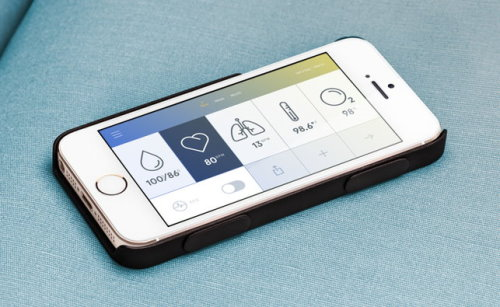 Wello iPhone Case and Health Monitoring Device (2)