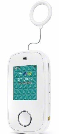 ZTE WeGo Kids Phone vertical left angle pvla white