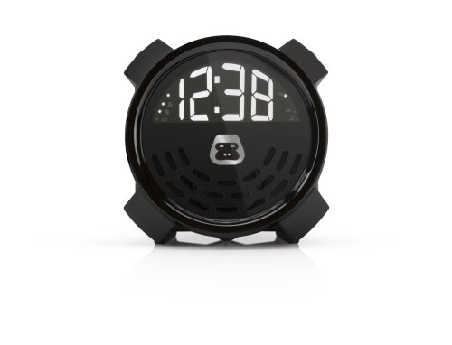 GBuzz Portable Alarm Clock with Phone Charging and FM Radio (2)