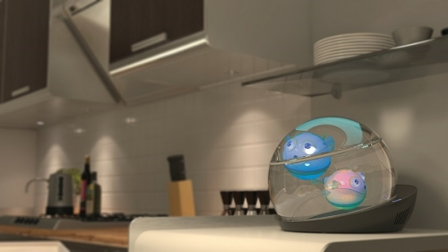 capsule aquarium lumipuff fish robotic (1)