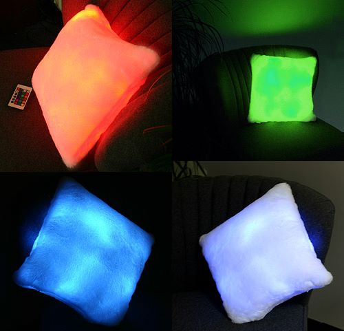 Remote Controlled Color Changing Pillow (1)
