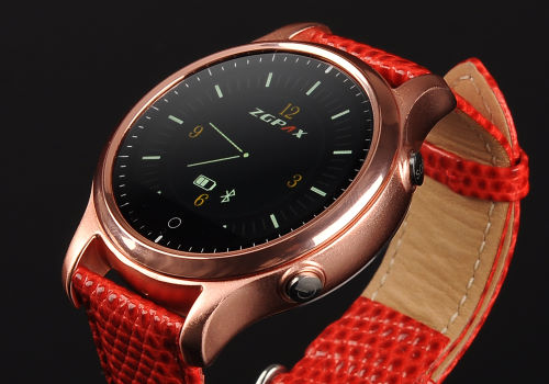 red smart watches women b
