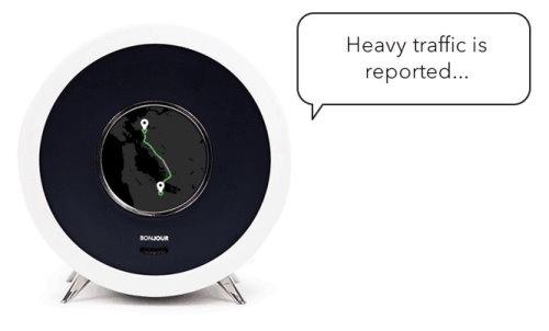 Bonjour Alarm Clock Artificial Intelligence