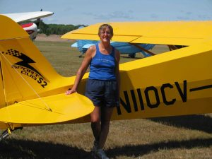 Diana Votaw with N110CV