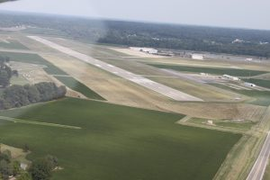 3 Taildraggers flight to Mt. Vernon IL KMVN