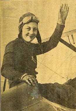 Aviatrix Bettie Lund