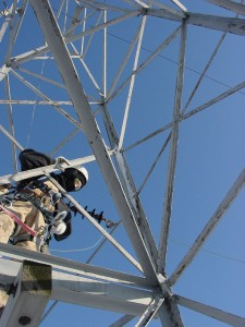 Climbing Transmission towers 2
