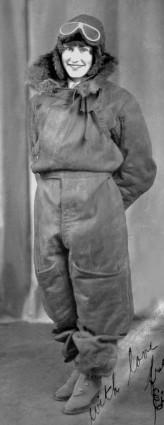 Eileen Vollick Fur lined suit