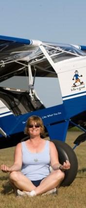 Lynn Gardner.  Just Aircraft Highlander  N45LG