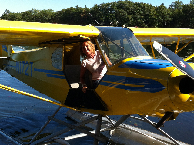 Seaplanes with Anne & Kelly