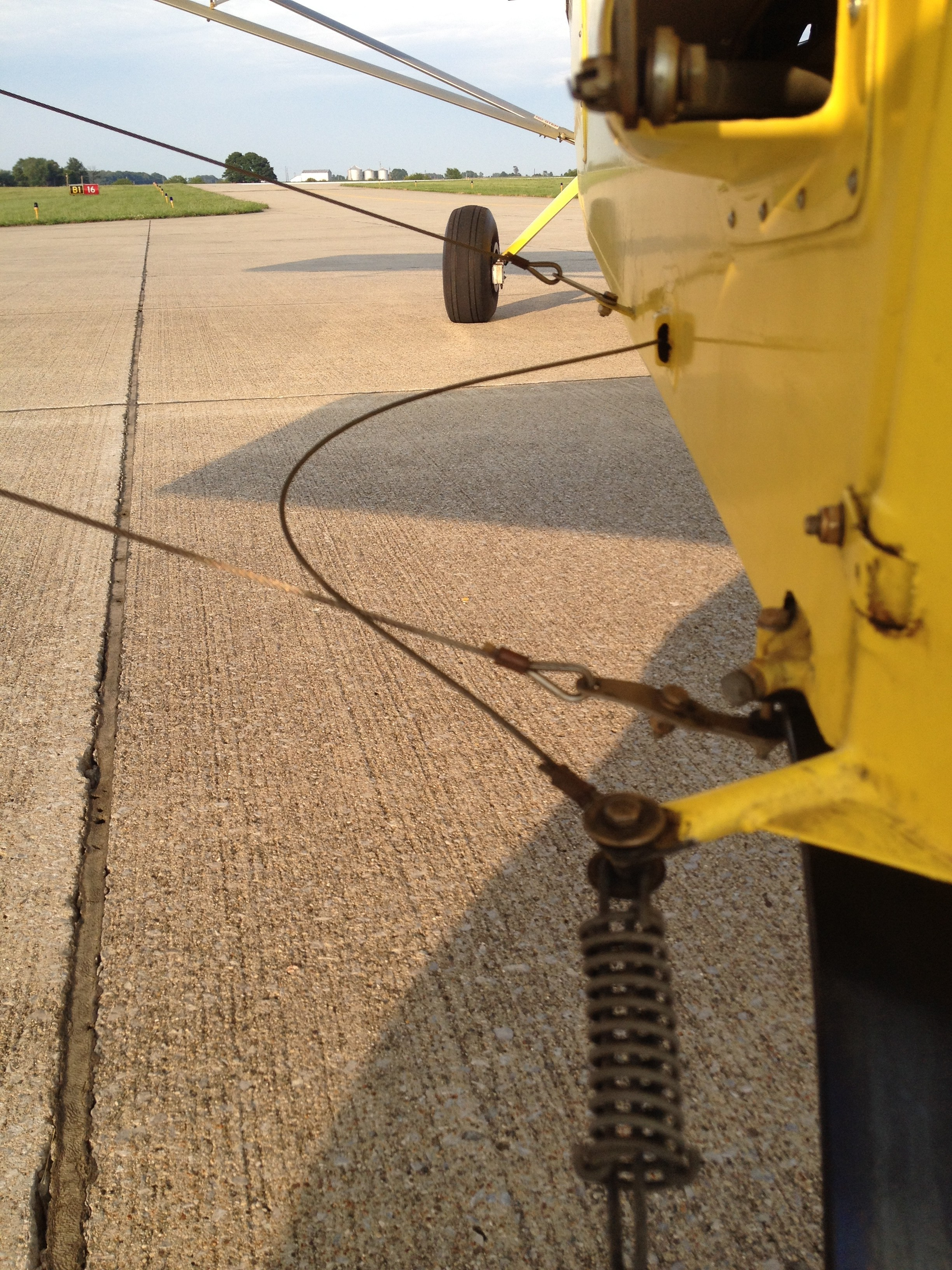 Rudder Cable Incident, Rans S-7