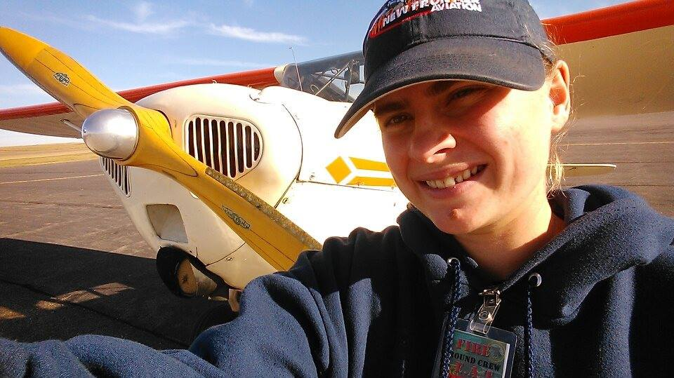 Heidi Stoeppler: Flying the Taylorcraft over the Missouri River