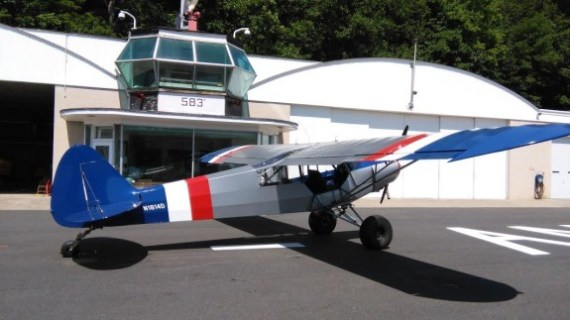 SuperCub decked out for flying the Bush