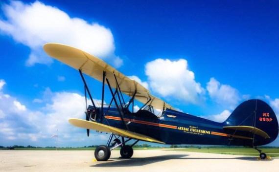 Terri Hull's Hatz Biplane