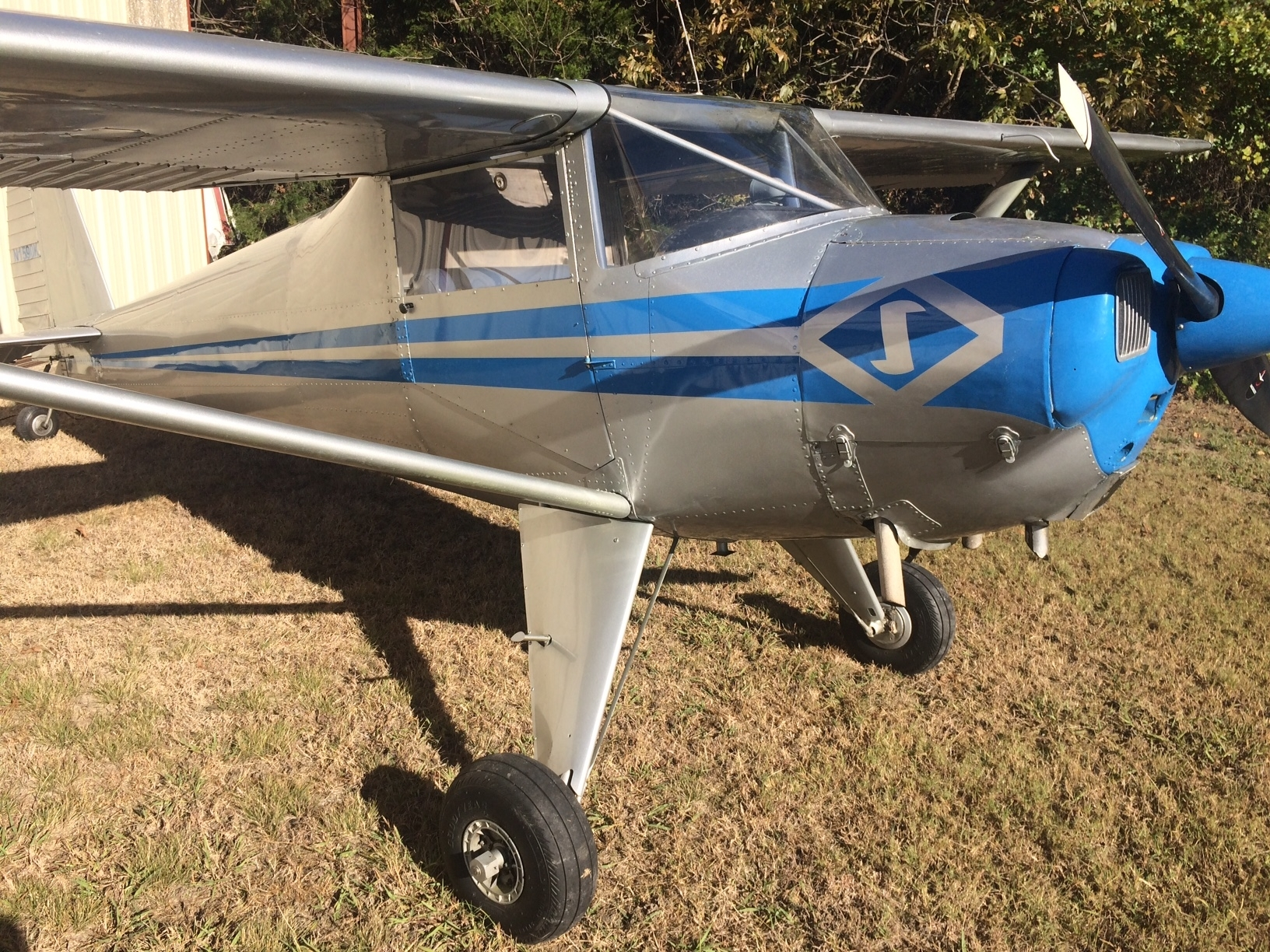 LadiesLoveTaildraggers | 1946 LUSCOMBE 8A LSA $22,500 For Sale
