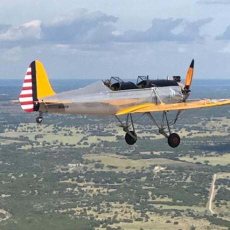 Ryan PT22 Recruit Ferry Flight, by Sarah Rovner