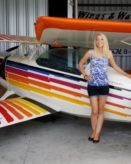 "Flying what some consider ""the best home-built aerobatic kit-plane ever designed"""