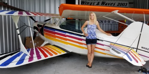 """Flying what some consider """"the best home-built aerobatic kit-plane ever designed"""""""