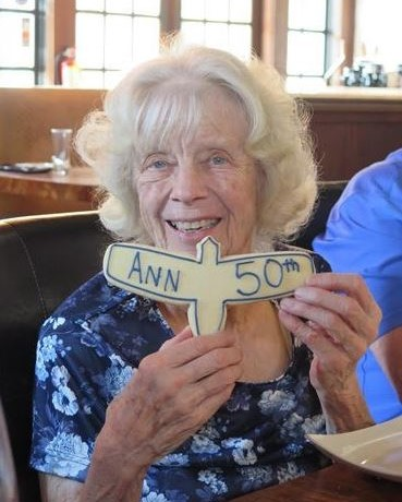 Ann Pellegreno Receives the Wright Brothers Award