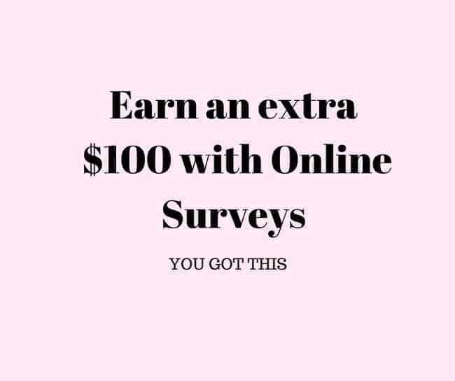 Earn an extra $100 with Online Surveys- Other Bloggers are doing it!