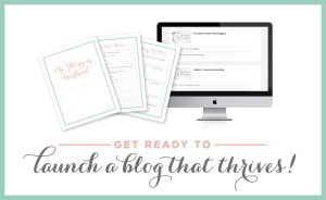 launch a profitable blog with Abby Just a girl and her blog!