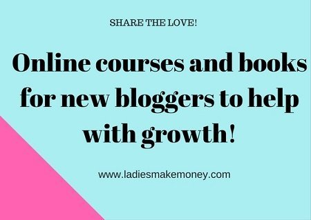 Online courses and books for new bloggers to help with growth