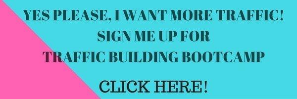 Blog Traffic Building Bootcamp