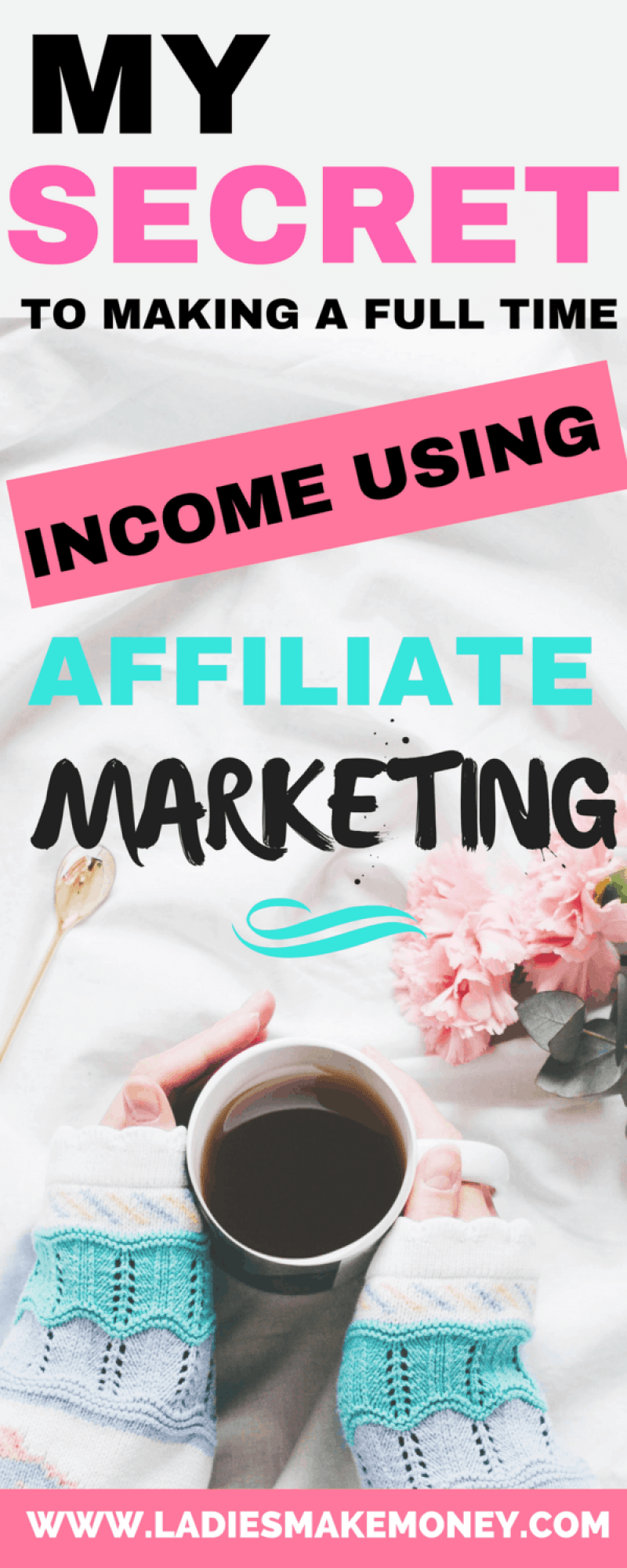 Making a full time income blogging using Affiliate marketing