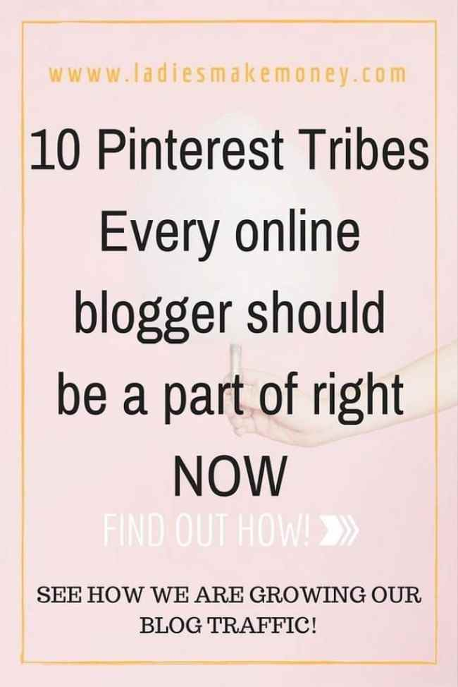 10 Pinterest Tribes every online blogger should be a part of right NOW