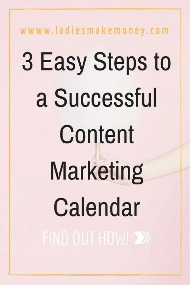 3 Easy Steps to a Successful Content Marketing Calendar