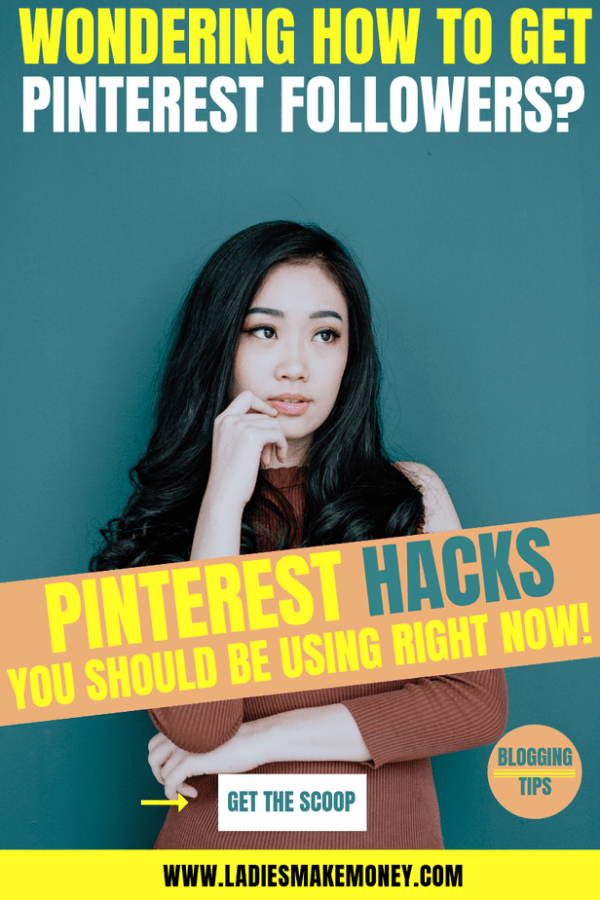 Here are tips to get more pinterest followers for new bloggers. Learn how to get more Pinterest followers and traffic, and double your re-pin rate by creating viral pins. #pinterestmarketing #pinterestmarketingtips #pintereststrategy #marketingstrategy #ladiesmakemoney