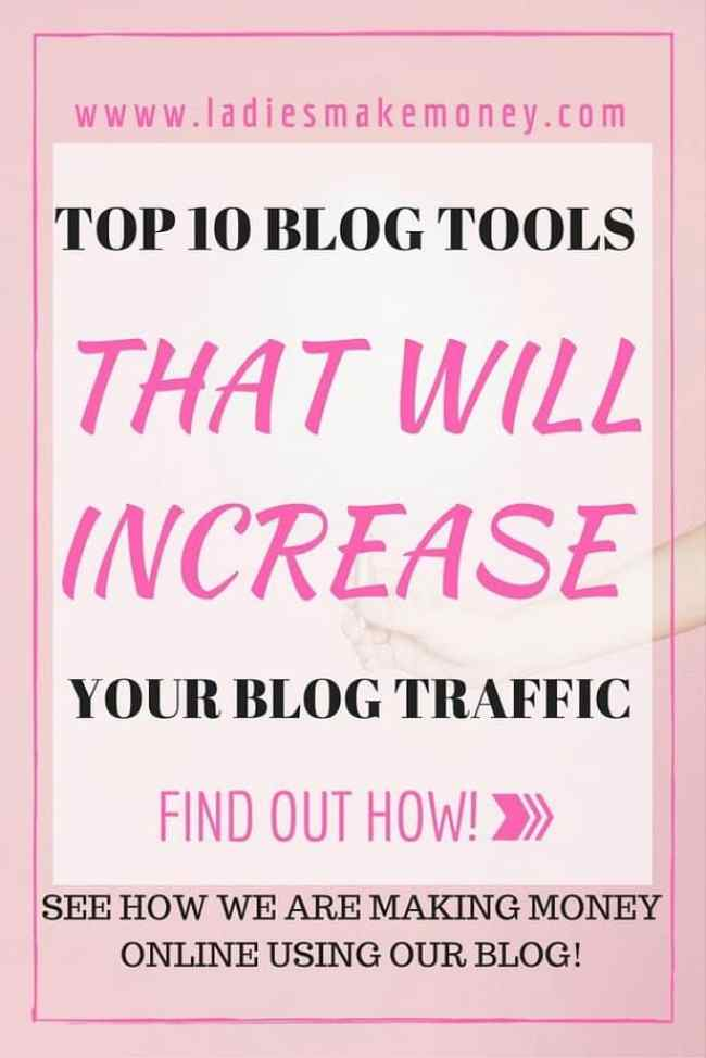 Top 10 Blog Tools that will help you get more blog traffic